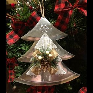 Other - 🌲Christmas Tree Metal Ornament🌲